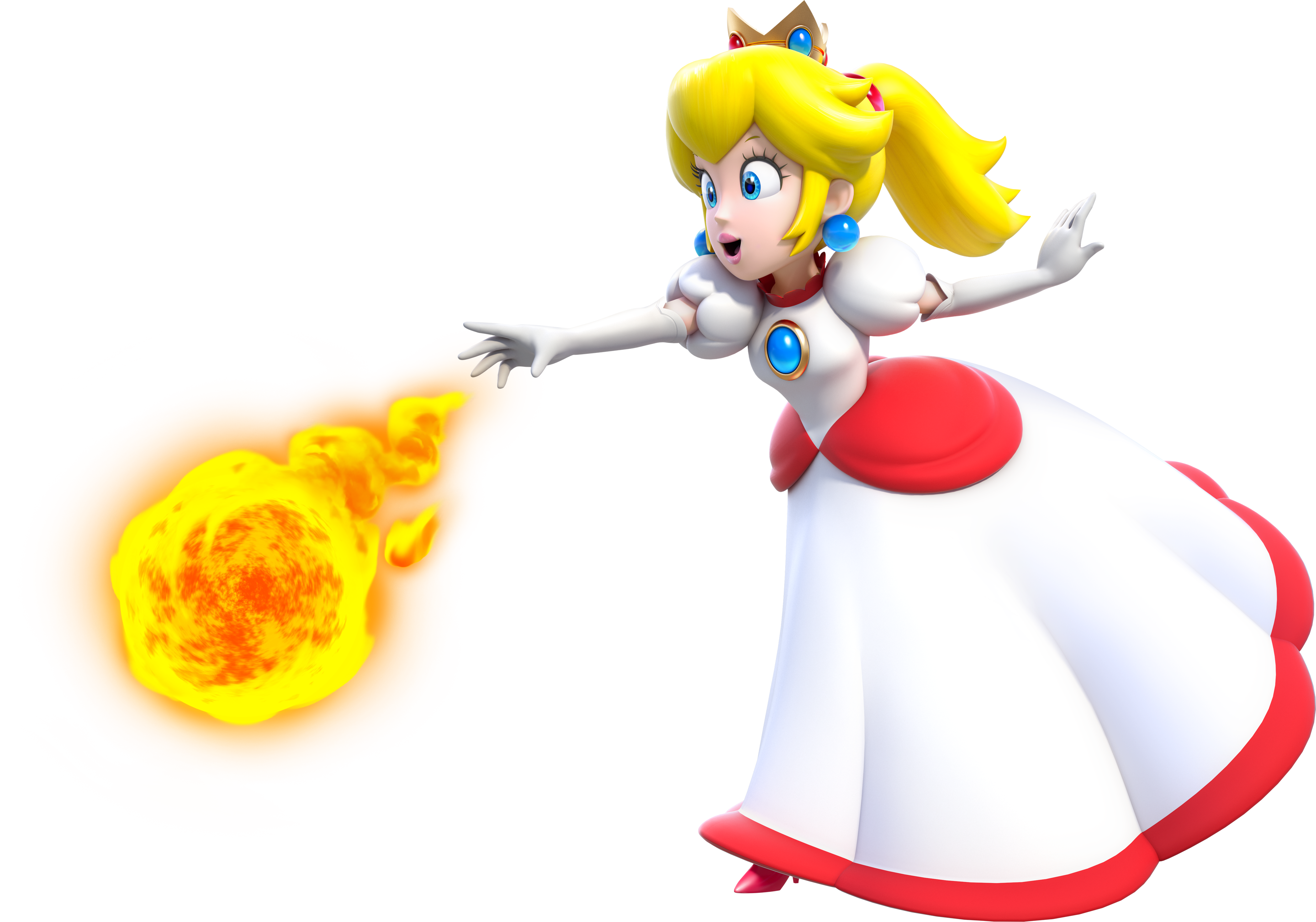 Fireflower Princess Peach