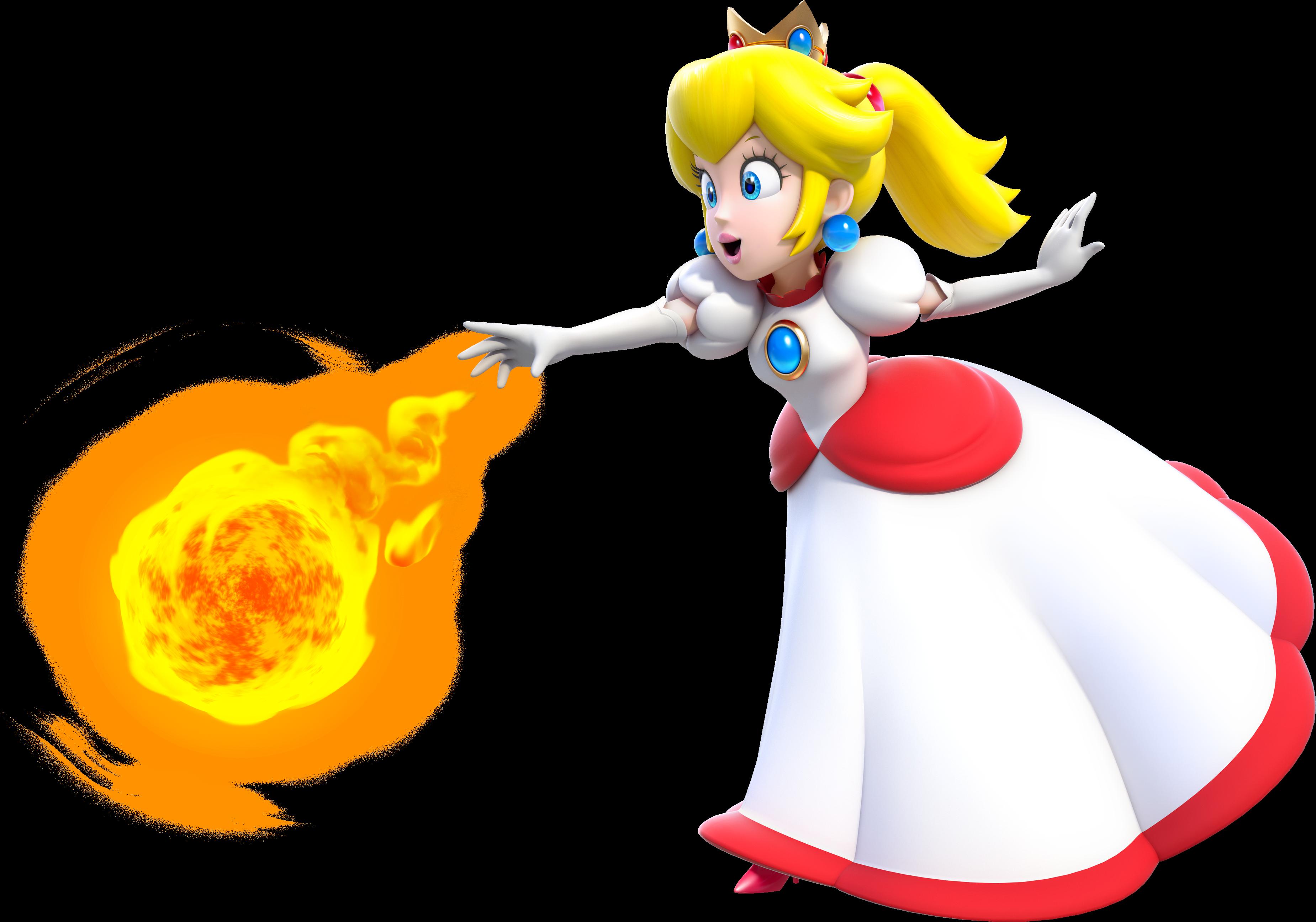 Fireflower Princess Peach